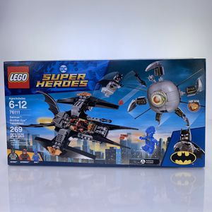 Lego DC super heroes 76111 Batman Brother Eye Take down for Sale in Pomona, CA