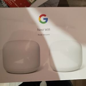 Google Nest Wifi Router and Point (2 pack) for Sale in Chandler, AZ