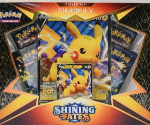 Pokemon TCG Shining Fates Pikachu V for Sale in Seattle,  WA
