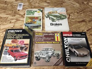 Automotive repair manuals for Sale in Portland, OR