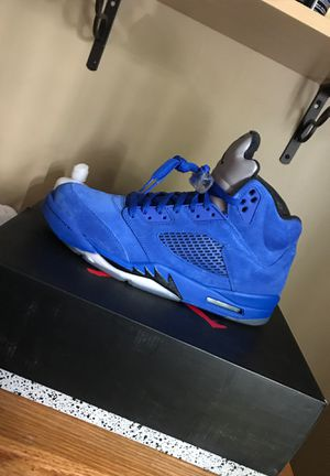 Jordan 5 Blue Suede Size 11 Original Box. Price Negotiable. Trades accepted too for Sale in Falls Church, VA