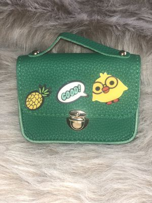Cute Cartoon Chain Crossbody Bag - Green for Sale in Philadelphia, PA