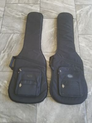 2 FENDER BASS GIG BAGS for Sale in El Paso, TX