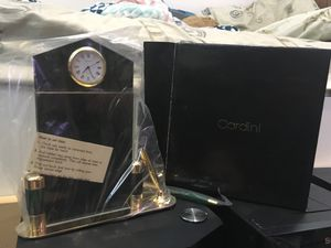 Cardini quartz clock for office table for Sale, used for sale  Levittown, PA