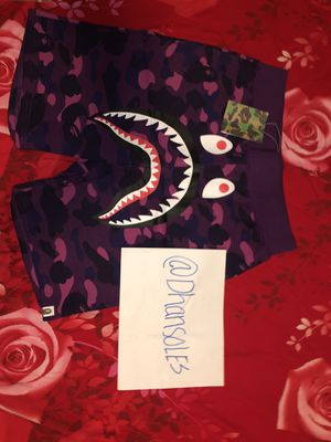 Bape Shorts Purple for Sale in Dallas, TX