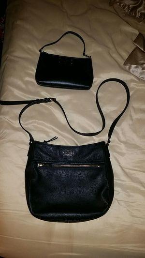 Kate Spade Black Pebbled Leather Crossbody & Medium Wristlet for Sale in Austin, TX