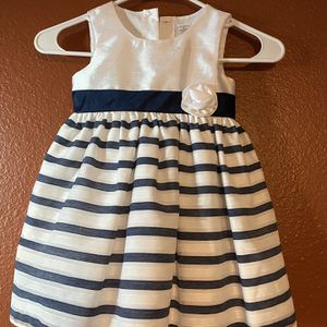 Girls Dress - Stripe Dress - Toddler Outfit - Flower Girl Dress - 3T for Sale in Chandler, AZ