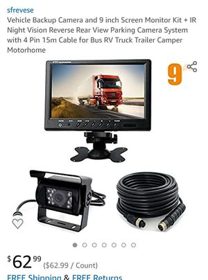 Back up camera for Sale in Maple Heights, OH
