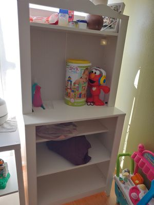 Ikea shelves/ changing table for Sale in San Diego, CA