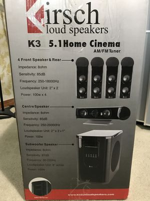 Kirsch loud speakers . Open box for Sale in Everett, WA