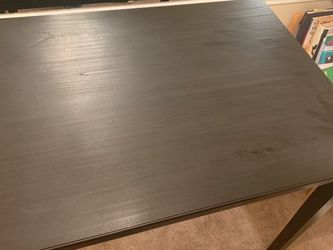 Excellent Black Wooden Dining Table And Chair for Sale in Nashville,  TN