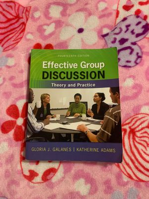 effective group discussion theory and practice for Sale in Ontario, CA