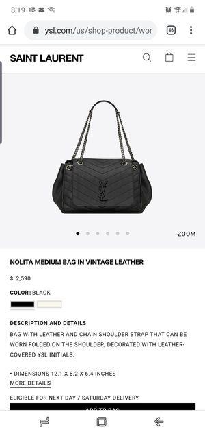 YsL NOLITA MEDIUM BAG IN VINTAGE LEATHER for Sale in Garland, TX