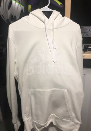 White Adidas Hoodie for Sale in Burlington, MA