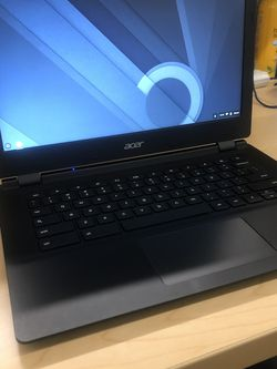 ACER CHROMEBOOK LAPTOP 13.3 INCHES 4GB RAM WEBCAM WIFI BLUETOOTH BLACK for Sale in Los Angeles,  CA