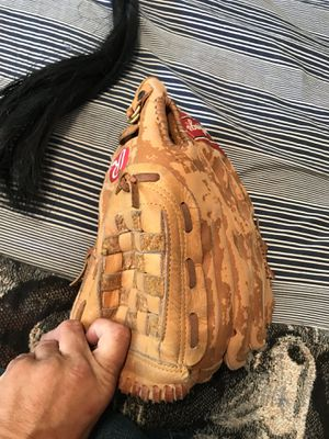 Leather softball glove no longer playing for Sale in Long Beach, CA