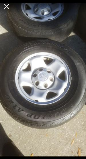 2014 Tacoma rims and tires for Sale in GRANT VLKRIA, FL