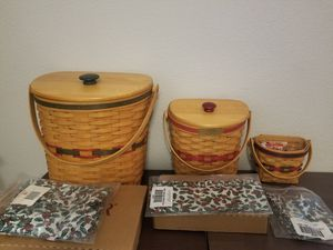 Longaberger baskets for Sale in San Antonio, TX