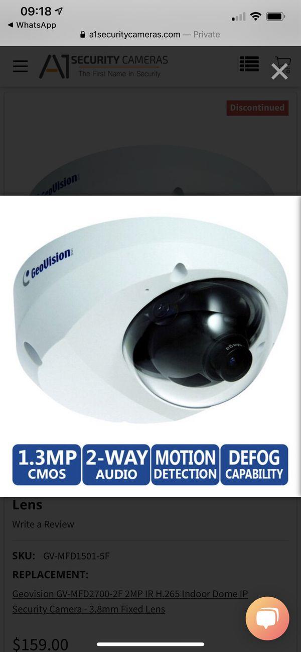 Geovision Indoor security cameras