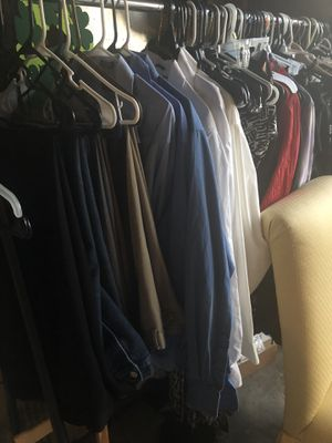 Men's Clothing XL- dress shirts - dress pants - jeans - $3.00 each for Sale in Aurora, CO