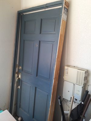 Solid wood door and frame for Sale in Wildomar, CA