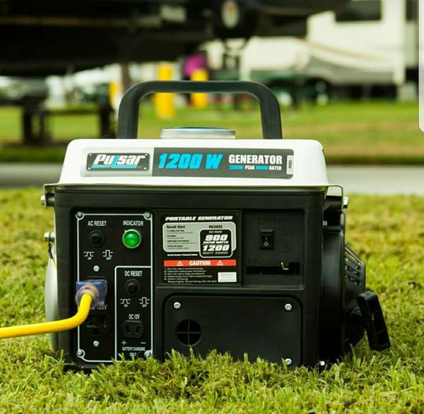 Portable Gas Generator Gasoline RV Camping Power Electric Small Quiet Powered
