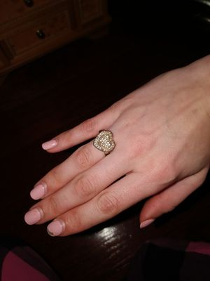 925 Sterling Silver Heart Ring in Rose Gold. for Sale in Suffern, NY