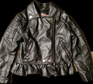 Kids Clothes (Chic Leather Jacket (girls) for Sale in Baltimore, MD