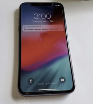 Iphone x 64g , like new , factory unlocked for Sale in Tampa, FL