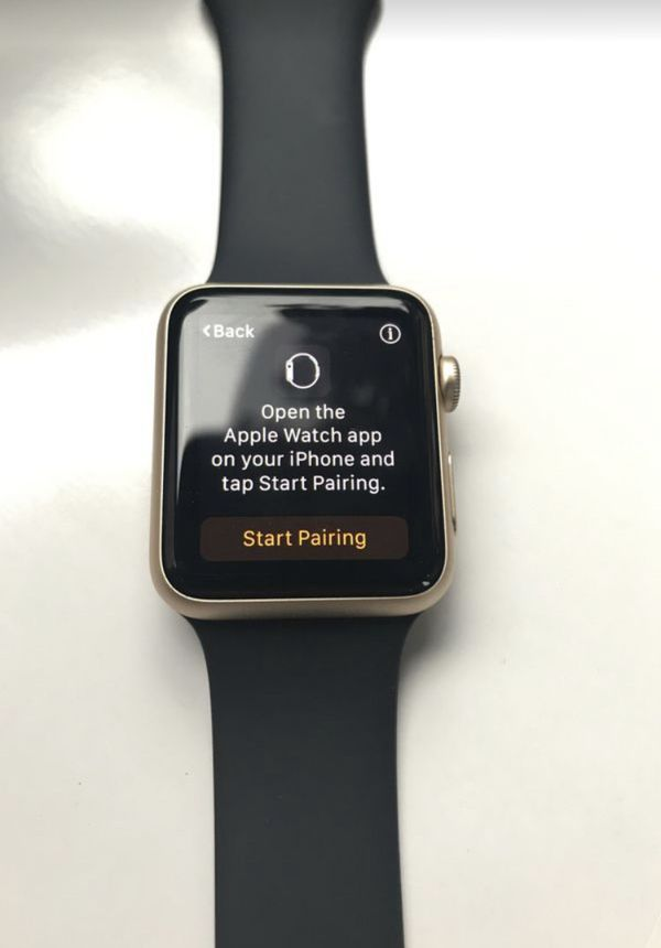 Apple Watch - Gold 42 mm - Gen 1