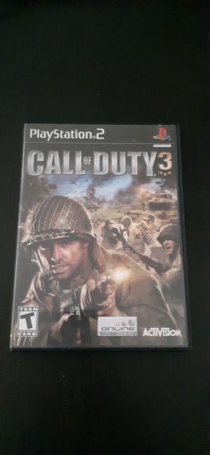 Call Of Duty 3- For the Ps2 for Sale in El Monte, CA