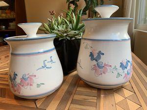 Vintage Tosch Ceramic Kitchen Jars for Sale in Issaquah, WA