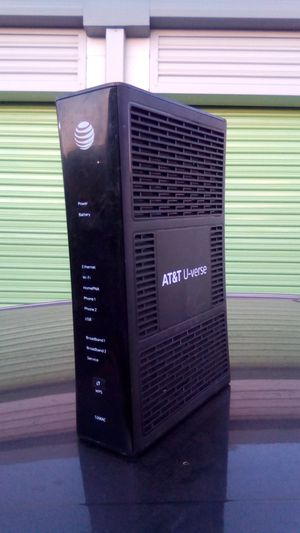 ATT U-VERSE ROUTER for Sale in Fontana, CA