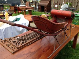 Antique child's sleigh/ buggy. for Sale in Traverse City, MI