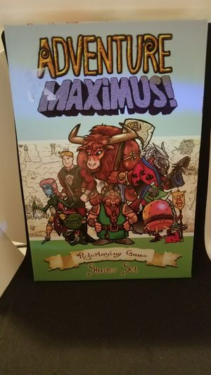 Adventure maximus board role play gaming special for kids and family for Sale in Henderson, NV