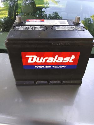 Duralast car battery for Sale in Ithaca, NY