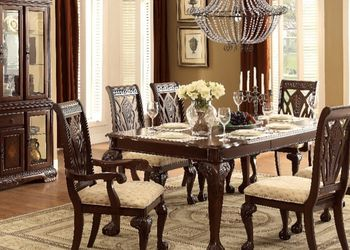 Dining Table Set 7 PCS In Special Offer In 45701 Highway 27N Davenport Fl 33897 407@969@1652 for Sale in Davenport,  FL