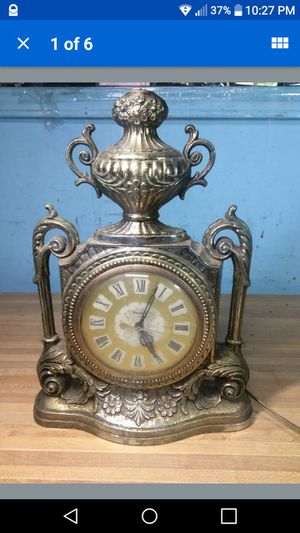 Antique UNITED Electric Mantel Clock- Made in USA!! Model No. 506= RARE! for Sale in Clovis, CA