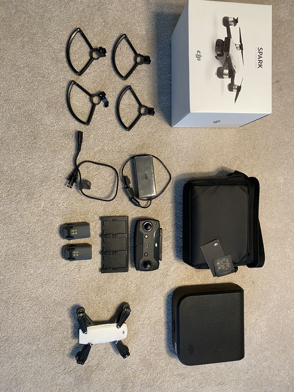 DJI SPARK FLY MORE COMBO DRONE - GENTLY USED