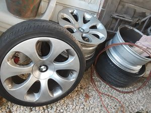 2006 BMW 650 wheels n tires (4 each) for Sale in Grand Terrace, CA