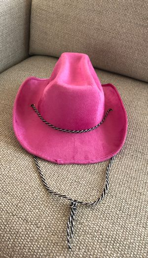 Pink cowgirl hat for Sale in Scottsdale, AZ