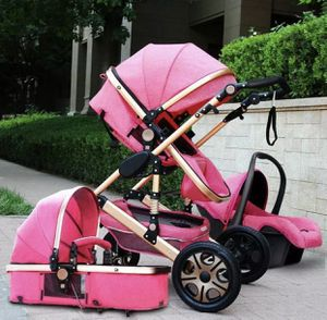 Pink stroller with car seat for Sale in Weslaco, TX