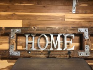 Rustic coat rack or sign for Sale in Walpole, MA