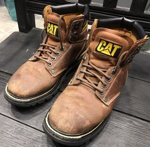 CAT's Men Soft Toe Work Boots for Sale in Carson, CA