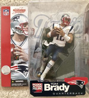 McFarlane Football New England Patriots Tom Brady figure for Sale in Concord, CA