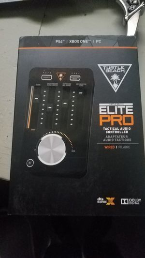 Turtle Beach Elite Pro Tactical Audio Controller - DTS Headphone:X 7.1 for Sale in Hammond, IN
