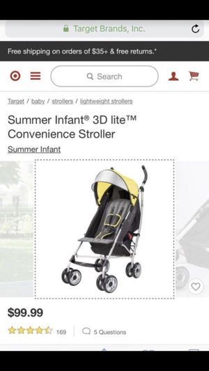 Brand new never used stroller color is pink for Sale in Nashville, TN