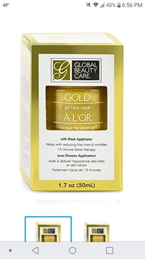 Gold Gel Face Mask anti-aging for Sale in Mill Creek, WA