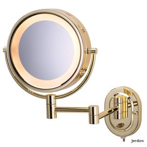 Jerdon 15 in. L x10 in. Lighted Wall Makeup Mirror for Sale in Dallas, TX