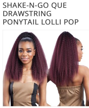 Que Drawstring Ponytail for Sale in St. Louis, MO